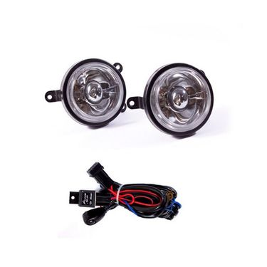 Ford Fiesta Fog Light Lamp Set of 2 Pcs. With Wiring