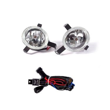 Nissan Micra Fog Light Lamp Set of 2 Pcs. With Wiring