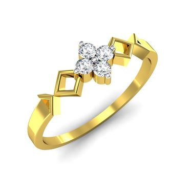 Ag Real Diamond Katrina Ring_AG0014y