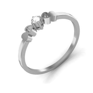 Ag Real Diamond Rohini Ring_AG0080w