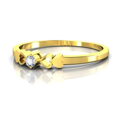 Ag Real Diamond Nisha Ring_AG0080y