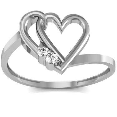 Ag Real Diamond Anjali Ring_AG0130w
