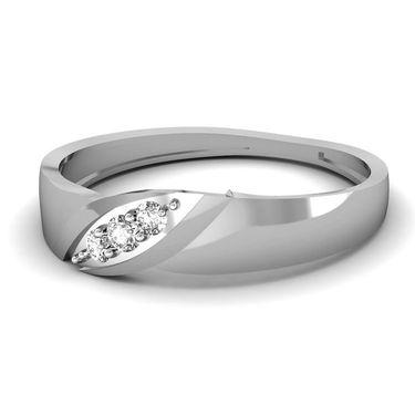 Ag Real Diamond Divya Ring_AG0136w