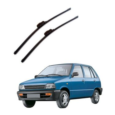 AutoStark Frameless Wiper Blades For Maruti Suzuki 800 (D)17