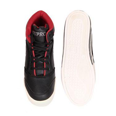 Kohinoor Footwears Faux Leather Casual Shoes AS0012_Red