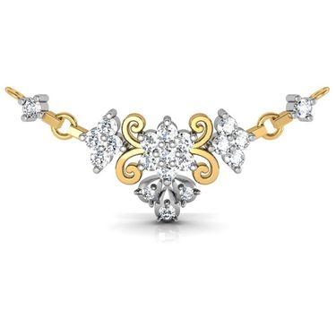 Avsar Real Gold & Swarovski Stone Janvhi Mangalsutra_Avm011yb