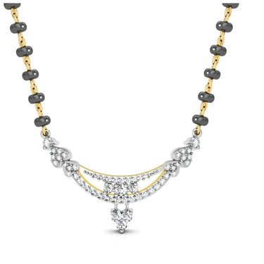 Avsar Real Gold & Swarovski Stone Uttarakh& Mangalsutra_Avm075yb