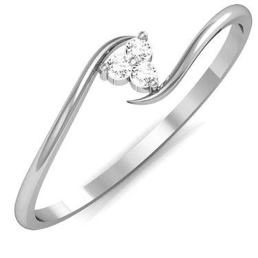 Avsar Real Gold & Swarovski Stone Kashmir Ring_A022wb