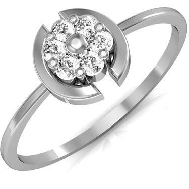 Avsar Real Gold & Swarovski Stone Vinita Ring_A026wb