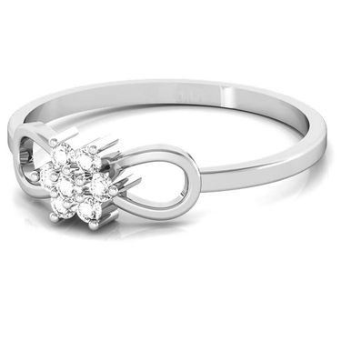 Avsar Real Gold & Swarovski Stone Manali Ring_A057wb