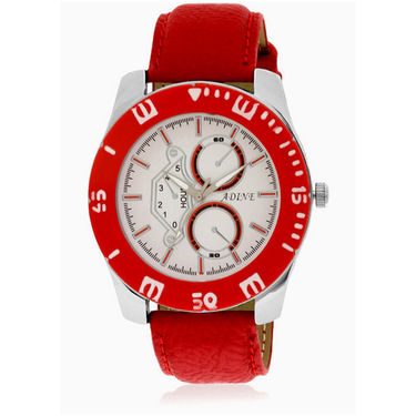 Adine Analog Wrist Watch_AD6015rw - White