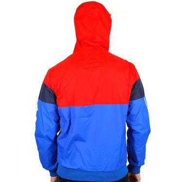 Adidas Men Full Sleeves Jacket_Adidas09 - Blue