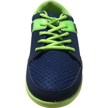 Mayor  Amaze Navy, Lime Green Shoes - 7
