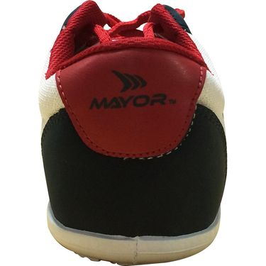 Mayor  Amaze Navy, White & Red Shoes - 6