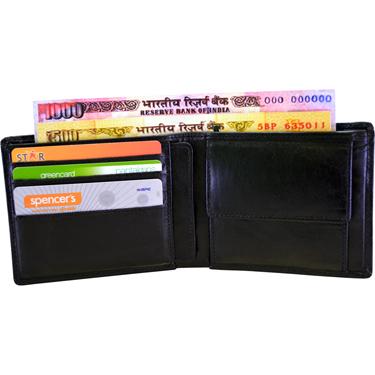 Arpera Leather Wallet for Men - Black_C11430-1