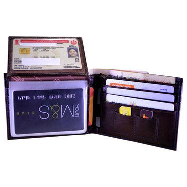 Arpera Genuine Leather Wallet For Men - Brown_12436430