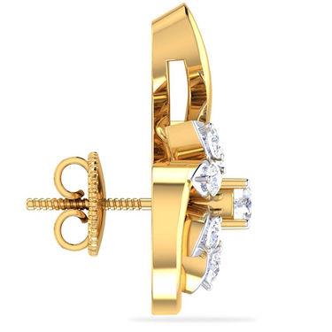 Kiara Swarovski Signity Sterling Silver Krupali Earring_B423 - Silver