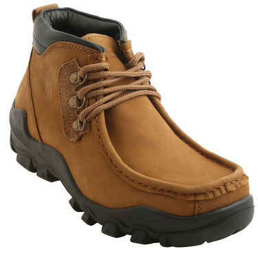 Bacca bucci Leather  Boot Bb021 _Tan