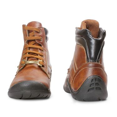 Bacca Bucci Leather Brown Boots -Bbma2120C