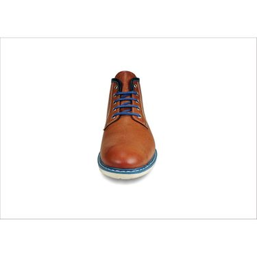 Bacca Bucci Genuine Leather Tan Casual Shoes -Bbmb3059D