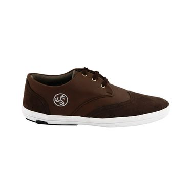 Bacca Bucci PU & Suede  Casual Shoes  Bbmb3085C -brown