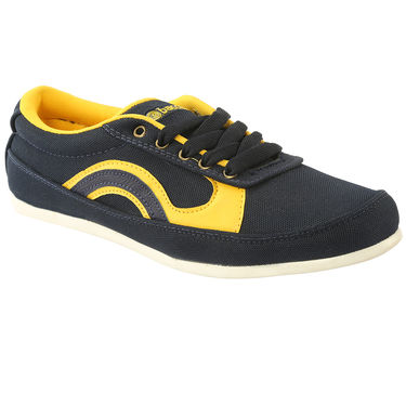 Bacca Bucci Canvas  Casual Shoes Bbmb3100N -Navy Blue