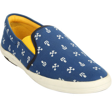 Bacca Bucci Canvas  Casual Shoes Bbmb3105B -Blue