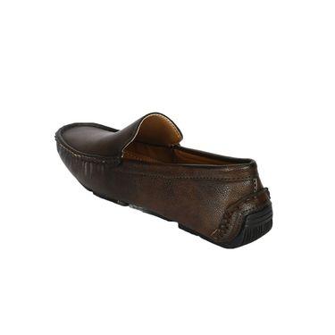 Bacca Bucci PU Brown Loafers -Bbmc4049C