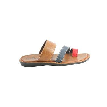 Bacca bucci Leather  Slipper Bb029 _MultiColor