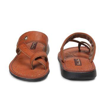 Bacca Bucci PU Brown Slippers -Bbmd5041C