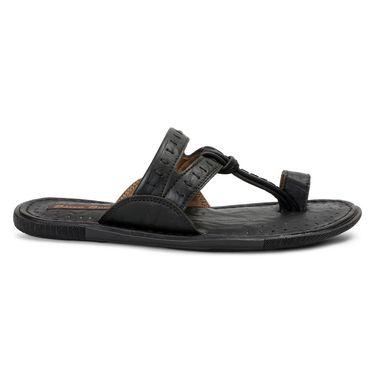 Bacca Bucci PU Black Slippers -Bbmd5043A