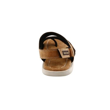 Bacca Bucci Leather  Sandal  Bbme6006D -Tan