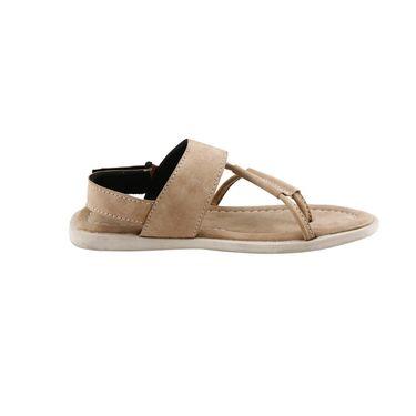 Bacca Bucci Leather  Sandal  Bbme6007E -Beige