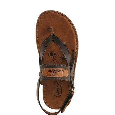 Bacca Bucci PU  Tan Sandal -ntb22