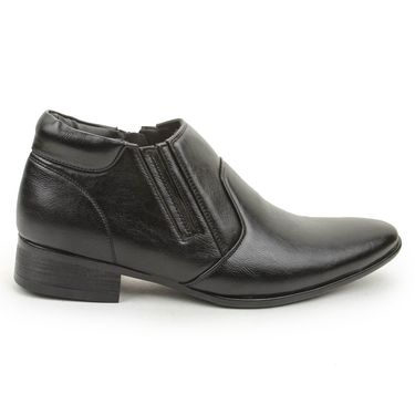 Bacca Bucci PU Black Formal Shoes -Bbmf7018A