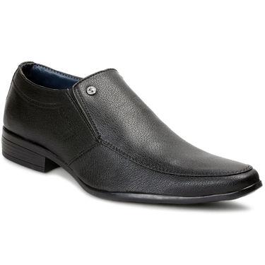 Bacca Bucci PU Black Formal Shoes -Bbmf7030A