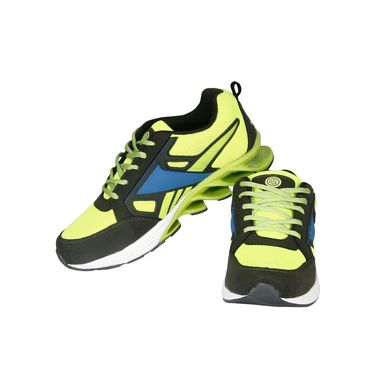 Bacca Bucci Mesh Green Sports Shoes -Bbmg8019H