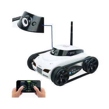 App Controlled Wi-Fi RC Tank with Camera - Big