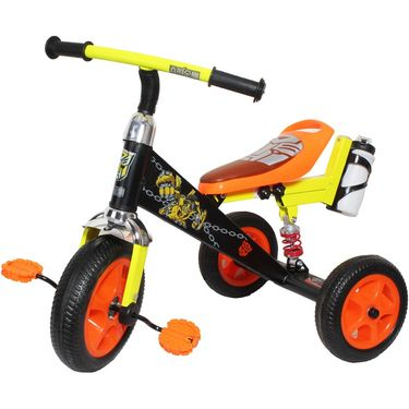 Kids Tricycle with Shockers - Black