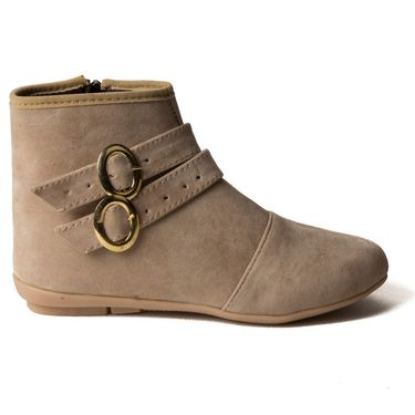 Branded Suede Leather Womens Boots BLS-001-BG