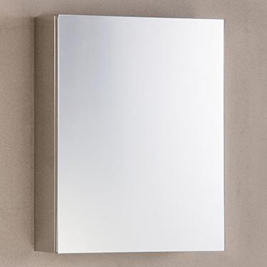 Cipla Plast Flora Stainless Steel Bathroom Cabinet - Gloss