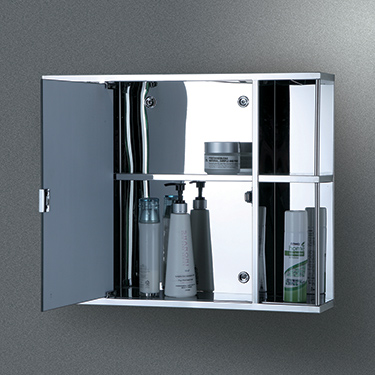 Cipla Plast Galaxy Stainless Steel Bathroom Cabinet - Gloss