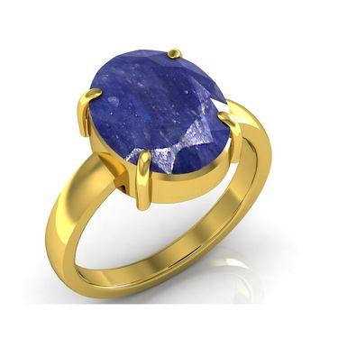 Kiara Jewellery Certified Neelam 3.0 cts & 3.25 Ratti Blue Sapphire Ring_Bsry