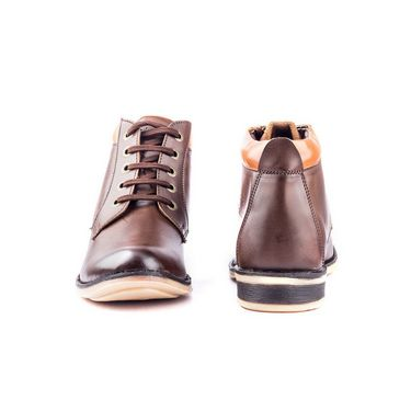 Kohinoor Footwears Synthetic leather Boot BT062_Brown