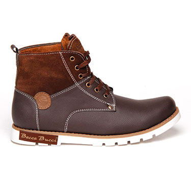 Bacca bucci  Leather  Boots - Brown-5663