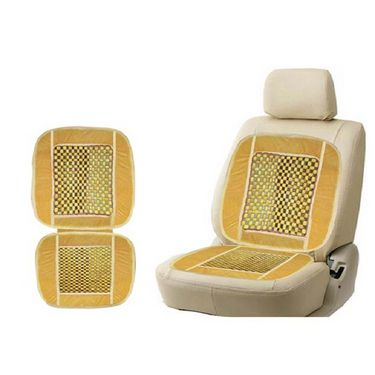 Combo of Cleaning Cloth + Car Wooden Bead Seat + Universal Car Mobile Holder/Mount