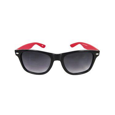 Unisex Wayfarer Sunglasses_Bes004 - Black