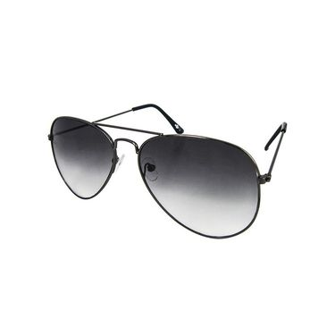 Unisex Aviator Sunglasses_Bes008 - Light Black