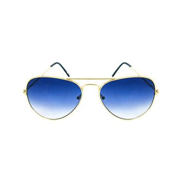 Unisex Aviator Sunglasses_Bes011 - Blue