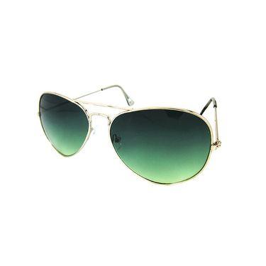 Unisex Aviator Sunglasses_Bes012 - Olive Green